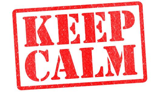 """O Que Significa """"keep Calm"""" Em Português?"""
